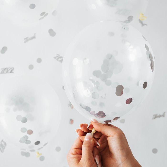 Silver ballong